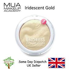 MUA Makeup Highlighting Highlighter Powder-UndressYourSkiN -IRIDESCENT GOLD 7.5g
