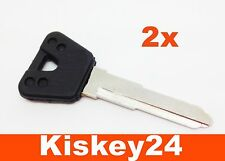 2 Schlüsselrohling für YAMAHA Motorrad FZR600 GTS1000 TDM850 XT600E DRAG STAR