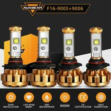 AUXBEAM Combo 9005 9006 LED 120W 12000LM Headlight Kit Bulbs 6000K Hi-low beam
