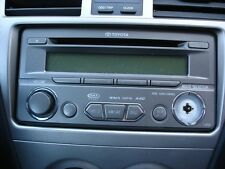 2012 TOYOTA YARIS RADIO RECEIVER PIONEER FACE ID-#T1810  #PT546-52111 A816