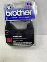 Pack of 2 Brother 1230 Black  Correctable 1030 Typewriter Film Ribbons AX Series