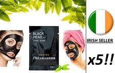 Blackhead Remover Deep Cleansing Spot Peel Acne Black Mud Face Mask Eye x5