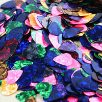 100PCS Acoustic Bulk Celluloid Electric Colored Smooth Guitar Pick Pick Plectrum