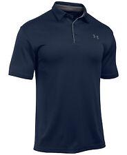 Under Armour UA Tech Short Sleeve Polo Shirt Men's Midnight Navy 2xl 1290140