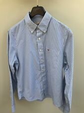 Mens Hollister Striped Shirt, Size Large