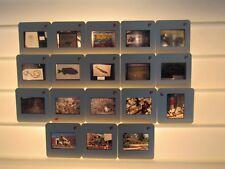 Lot 17 Vintage Vacation Souvenir Slides-Dinosaur National Monument-Utah-1983