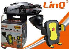 """Supporto Staffa Per Auto Carl Holder Universale Smartphone 4,8""""-5"""" Linq Hd088"""