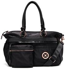 Mimco Turnlock Naughty Weekender Duffle Bag - Black