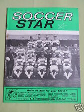 SOCCER STAR - UK FOOTBALL MAGAZINE - 7 AUG 1964 - QUEENS PARK RANGERS