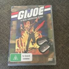 G.I. JOE DVD. A REAL AMERICAN HERO!