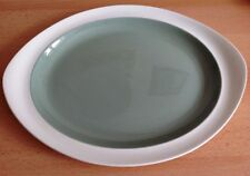 """WEDGWOOD RARE 14.75"""" Large OVAL SERVING PLATTER PLATE VGC Wintergreen Winter"""