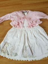 9-12 months NEXT Disney Baby Winnie the Pooh Dress and Pink Mayoral Bolero Set