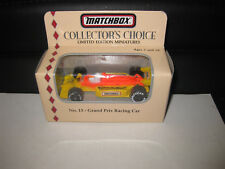 MATCHBOX COLLECTORS CHOICE #13 GRAND PRIX RACING CAR LIMITED EDITION RELEASE