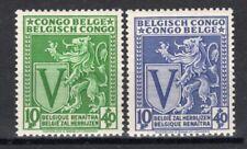 BELGISCH CONGO: COB 268/269  POSTFRIS ** MNH ==> ZIE SCAN.