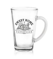 6 Latte Macchiato Gläser 300ml mit Aufdruck Teegläser Kaffeegläser Milchkaffee