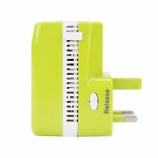 Travelon Universal 3-in-1 Adapter, Converter, Usb Charger Green 02042-440
