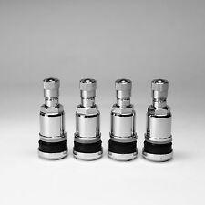 4 x Metallventile Chrom Stahlventile universal PKW Felgenventile 11,3 mm