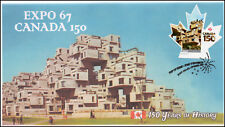 Ca17-031, 2017, Canada 150, Expo 67, Day of Issue, Fdc