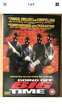 GOING OFF BIG TIME ~ Liverpool Crime Film | UK DVD Neil Fitzmaurice Peter Kay