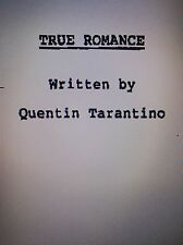 True Romance Quentin Tarrantino first draft