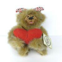 "Kimbearly's Originals A&A Plush Bear #19023 ""Chelsea"" Designed by Kimberly Hunt"
