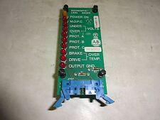 ALLEN BRADLEY 50382 DIAGNOSTIC LED DISPLAY BOARD