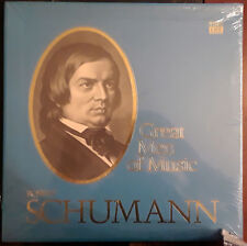Sealed in Factory Wrap Time Life Records Great Men of Music LP Robert Schumann