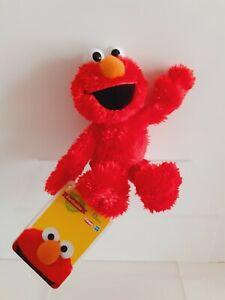 "New with Tags.Elmo 9"" Plush Toy Playskool Hasbro Furchester Sesame Street"
