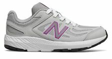 New Balance Kid's 519 Big Kids Female Shoes Grey with Purple
