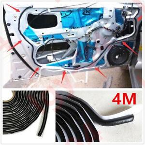 Car Door Windshield Reseal Rubber Butyl Glue/Headlight Retrofit/Sealant Black 4M