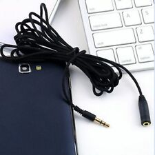 Wire Extender 4.9ft Female Male Cord Headphone To Stereo 3.5mm Extension Cable