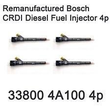 Bosch CRDI Diesel Fuel Injector 33800 4A100 4Pcs For Hyundai Starex Kia Sorento
