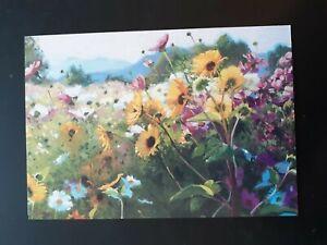 Blank Card ~ Flowers