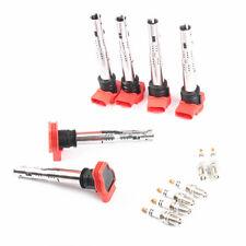 Fit For AUDI R8 2007-2012 Petrol 4.2 V8 5.2 V10 Ignition Coils + Spark Plug 12x