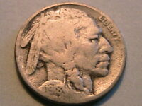 1918-P Buffalo Nickel Nice Good Toned Original Indian Head 5 Cent WWI Coin