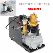 30Mpa Electric Air Compressor for Airgun Paintball Refilling  220V Pump Machine