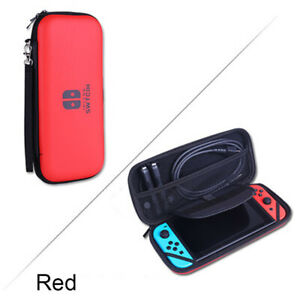 New Blue Red Silver Black Nintendo Switch OLED Travel Carrying Case Bag +Screen