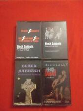 Black Sabbath cassette lot of 4, Heaven and Hell, Headless Cross, Eternal Idol