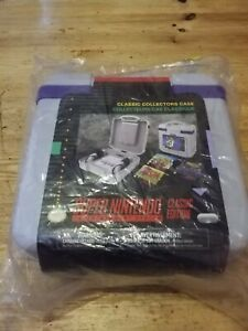Super Nintendo SNES Classic Mini Collectors Carry Case Brand New and Sealed