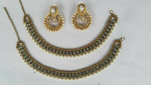 Indian Payal Barefoot Chain Ankle Bracelet With Earrings Anklet Boho Jewelry