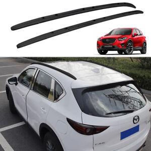 2pcs Fit for Mazda CX-5 CX5 2017-2021 roof rails Roof Rack Side Rail Bars