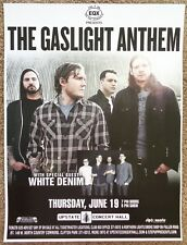 GASLIGHT ANTHEM 2014 Gig POSTER Concert Clifton Park New York