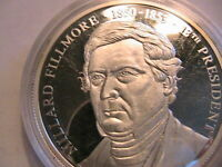 1998 American Mint The US Presidents Medals Millard Fillmore 1850-53 Cameo Proof
