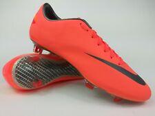 Nike Mens Rare Mercurial Vapor VIII FG 509136 800 Pink Mango Cleats Size 12