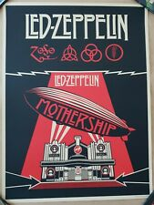 Shepard Fairey - Led Zeppelin Mothership - Limited Edition of 500 - 2012