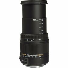 SIGMA 18-250mm F3.5-6.3 DC MACRO OS HSM LENS FOR CANON & 32GB SD CARD