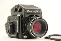 【 Optics NEAR MINT 】 MAMIYA M645 PD Prism Finder + SEKOR C 80mm f/2.8 from JAPAN