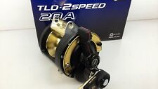 SHIMANO TLD20A 2 Speed Reel TLD 20A II & Chemical Light