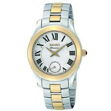 Seiko SRKZ96 SRKZ96P1 Ladies Premier Watch two tone WR100m RRP $895.00