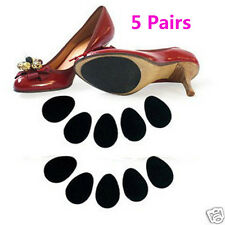 5 Pairs  New High Heels Non-slip Insole Mat Silicone Rubber Forefoot Pads